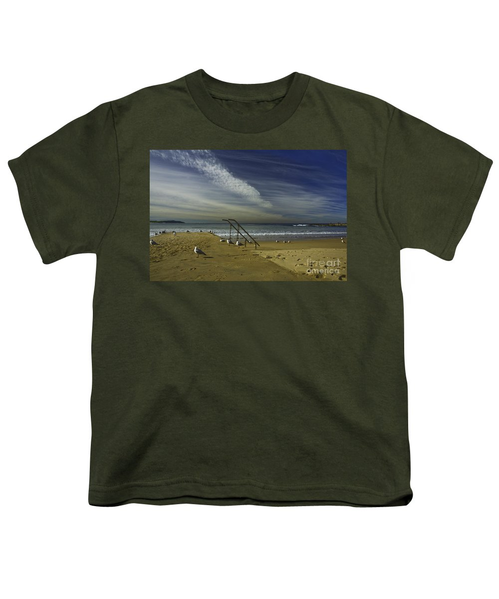 Beach Youth T-Shirt featuring the photograph Dee Why Beach Sydney by Sheila Smart Fine Art Photography