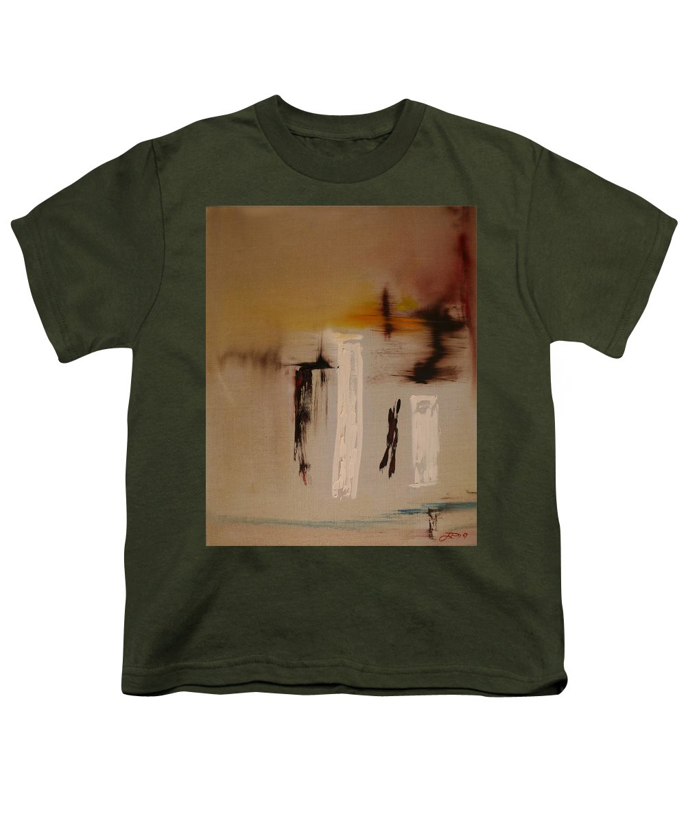 Abstract Youth T-Shirt featuring the painting Easy by Jack Diamond