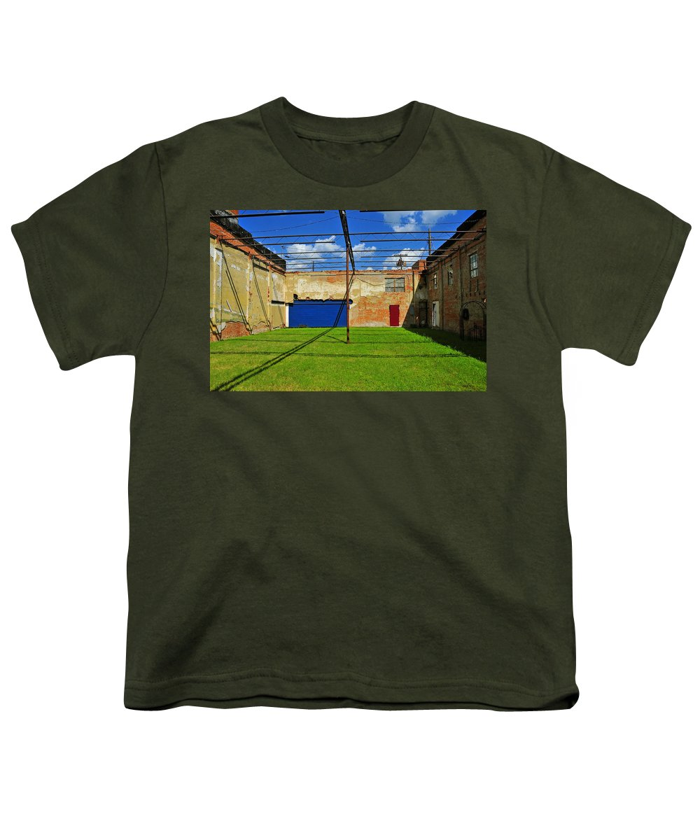 Skiphunt Youth T-Shirt featuring the photograph Eco-store by Skip Hunt