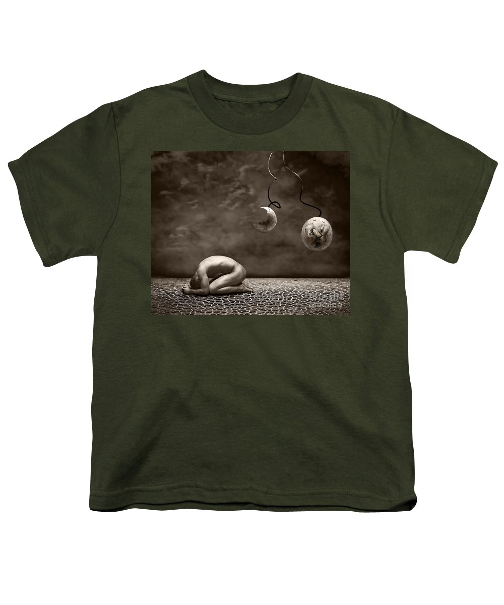 Surreal Youth T-Shirt featuring the photograph Emptiness by Jacky Gerritsen