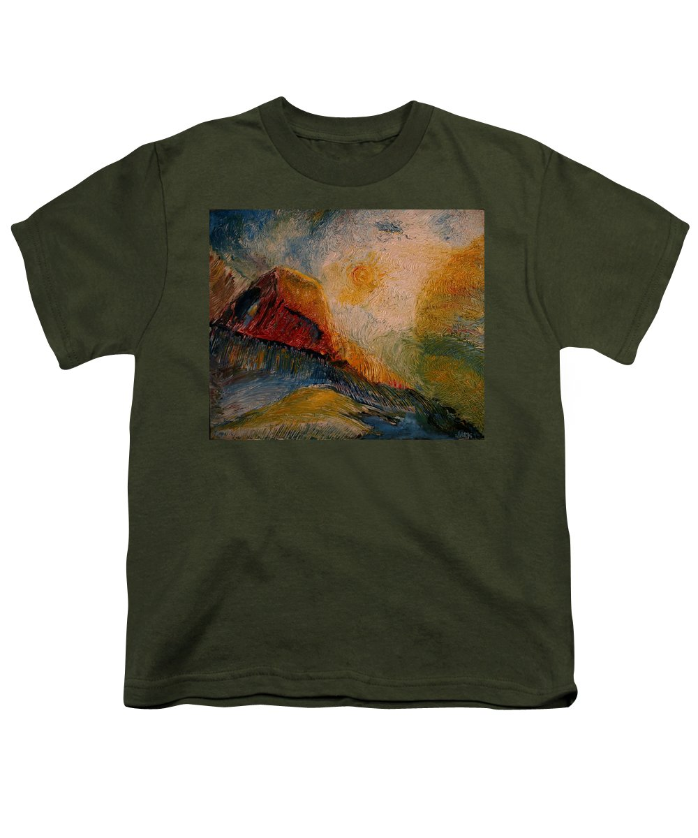 Rede Youth T-Shirt featuring the painting Harvast by Jack Diamond