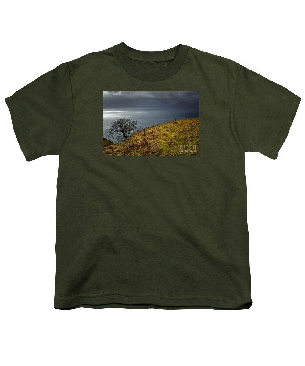 Isle Of Skye Youth T-Shirt featuring the photograph Isle Of Skye Views by Smart Aviation