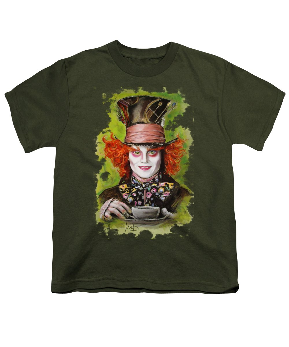 Johnny Depp Youth T-Shirts