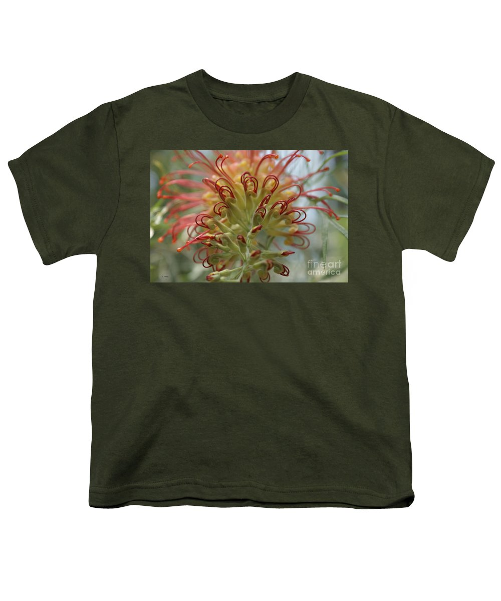 Floral Youth T-Shirt featuring the photograph Like Stems Of A Cherry by Shelley Jones