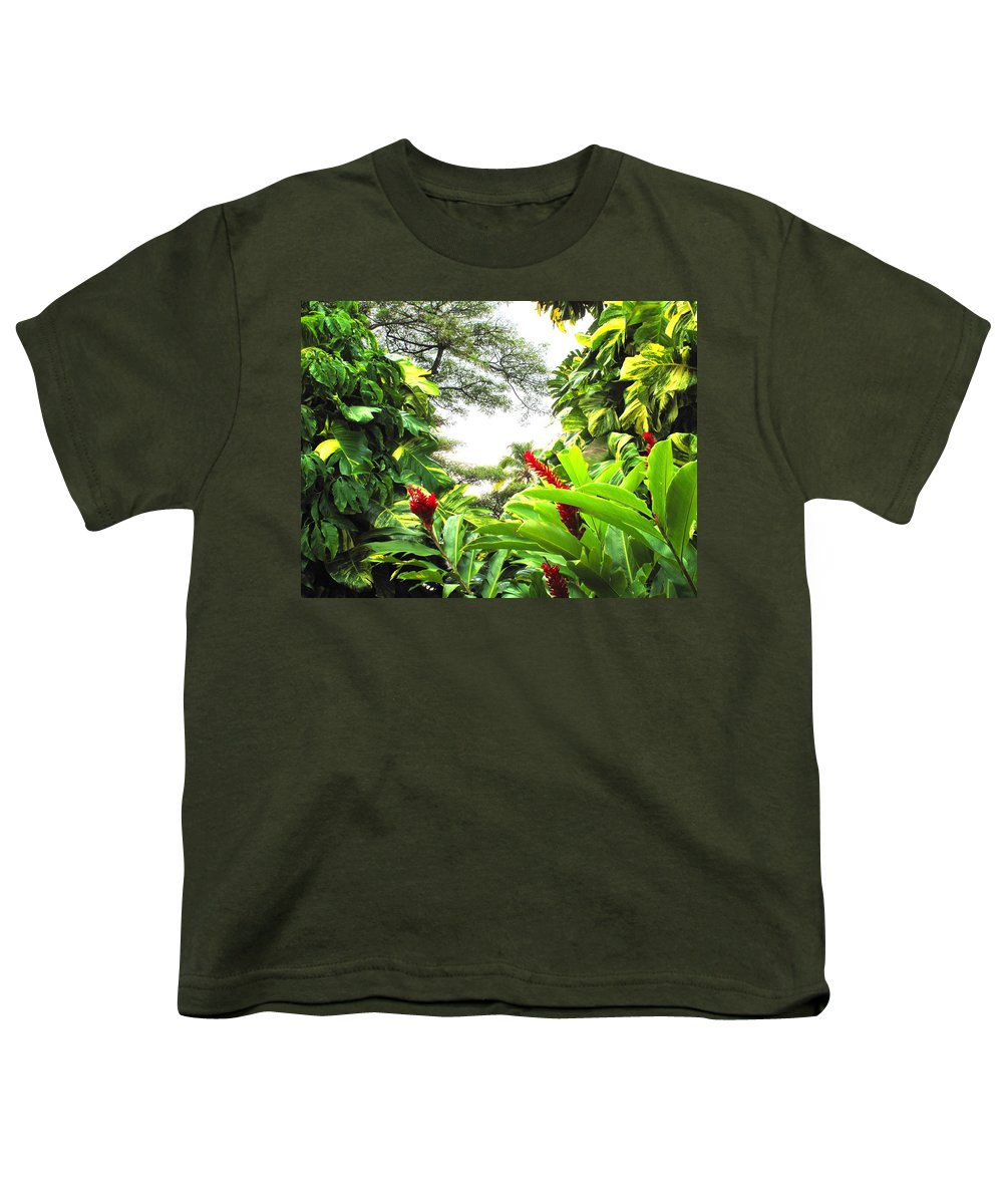 St Kitts Youth T-Shirt featuring the photograph Lush by Ian MacDonald