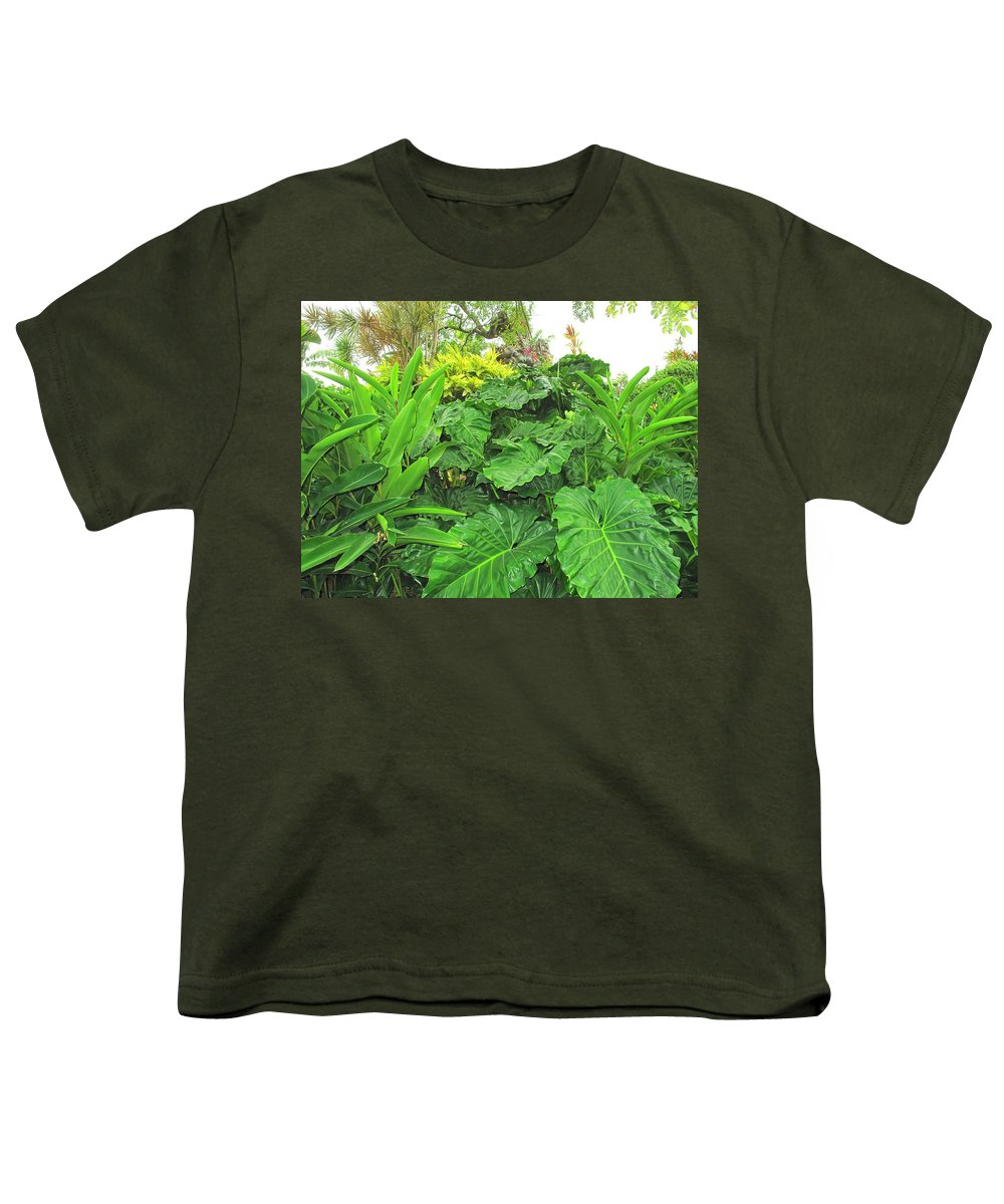 Vegetation Youth T-Shirt featuring the photograph Lust Too by Ian MacDonald
