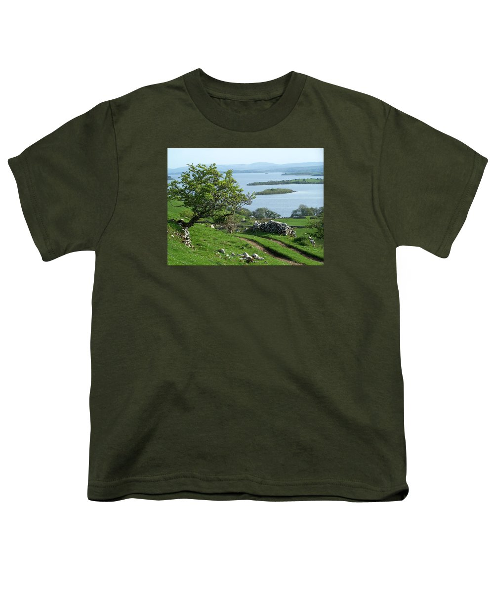Ireland Youth T-Shirt featuring the photograph May The Road Rise To Meet You by Teresa Mucha