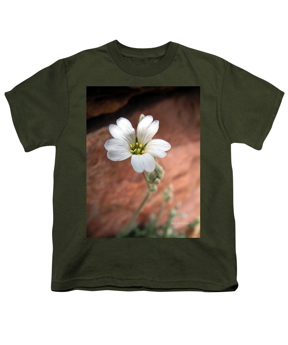 Alpine Youth T-Shirt featuring the photograph Mountain Beauty by RC DeWinter