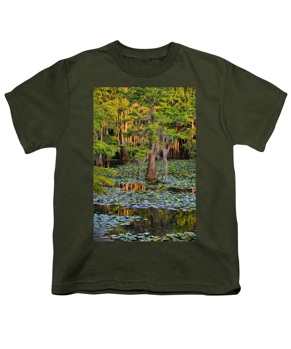 Bog Youth T-Shirt featuring the photograph Naked by Skip Hunt