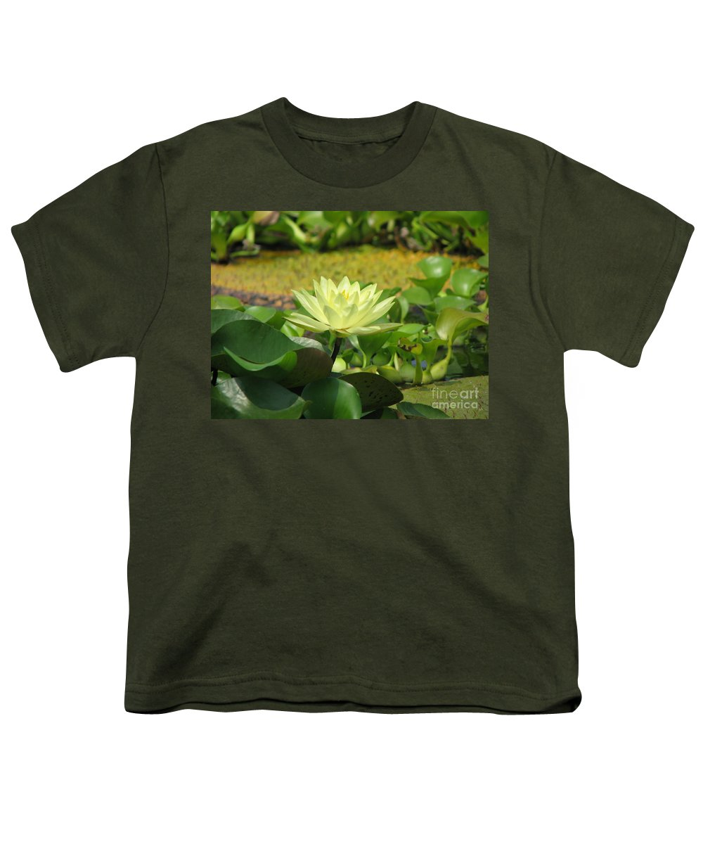 Nature Youth T-Shirt featuring the photograph Nature by Amanda Barcon