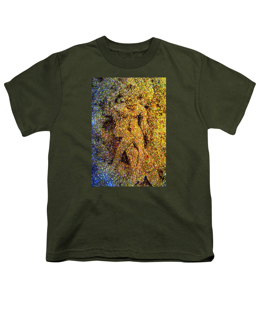 Abstract Youth T-Shirt featuring the digital art Out Of Eden by Dave Martsolf