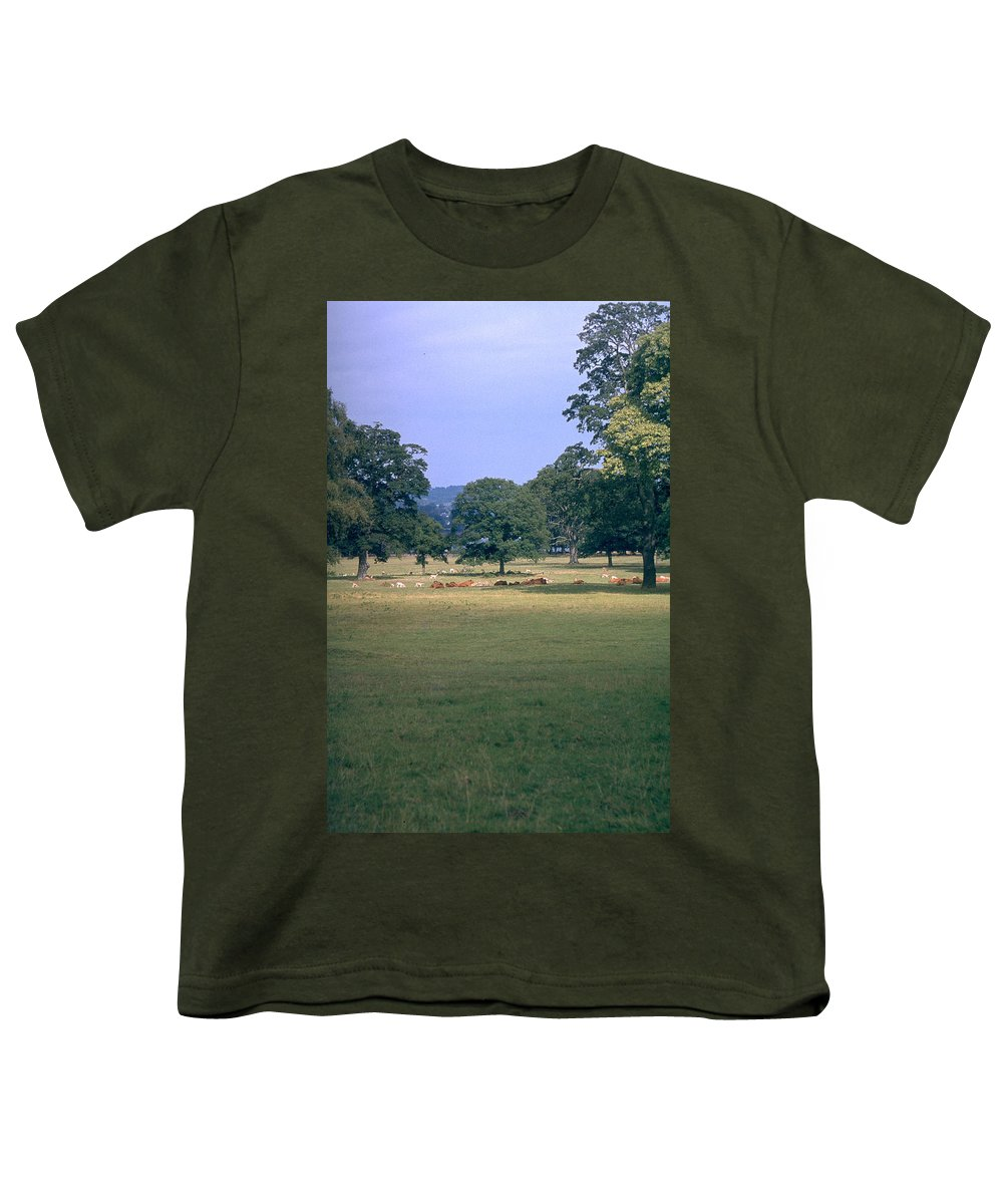 Great Britain Youth T-Shirt featuring the photograph Pasture by Flavia Westerwelle