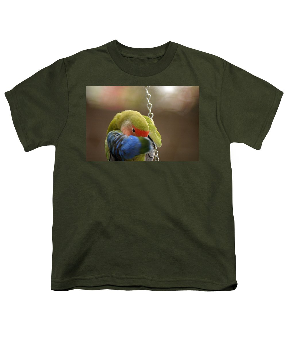 Clay Youth T-Shirt featuring the photograph Peek A Boo by Clayton Bruster