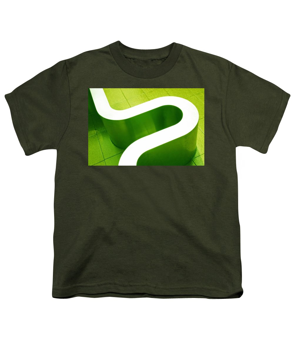 Abstract Youth T-Shirt featuring the photograph Pharmacia by Skip Hunt