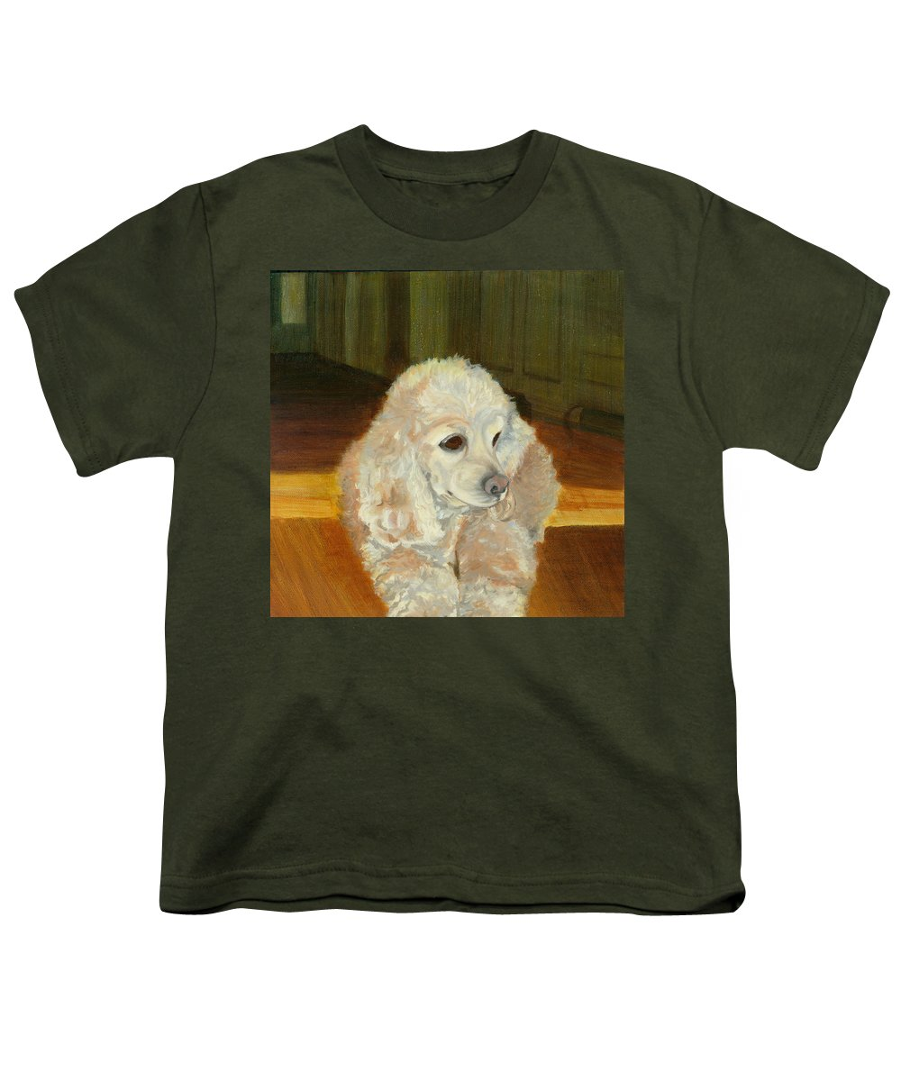 Animal Youth T-Shirt featuring the painting Remembering Morgan by Paula Emery
