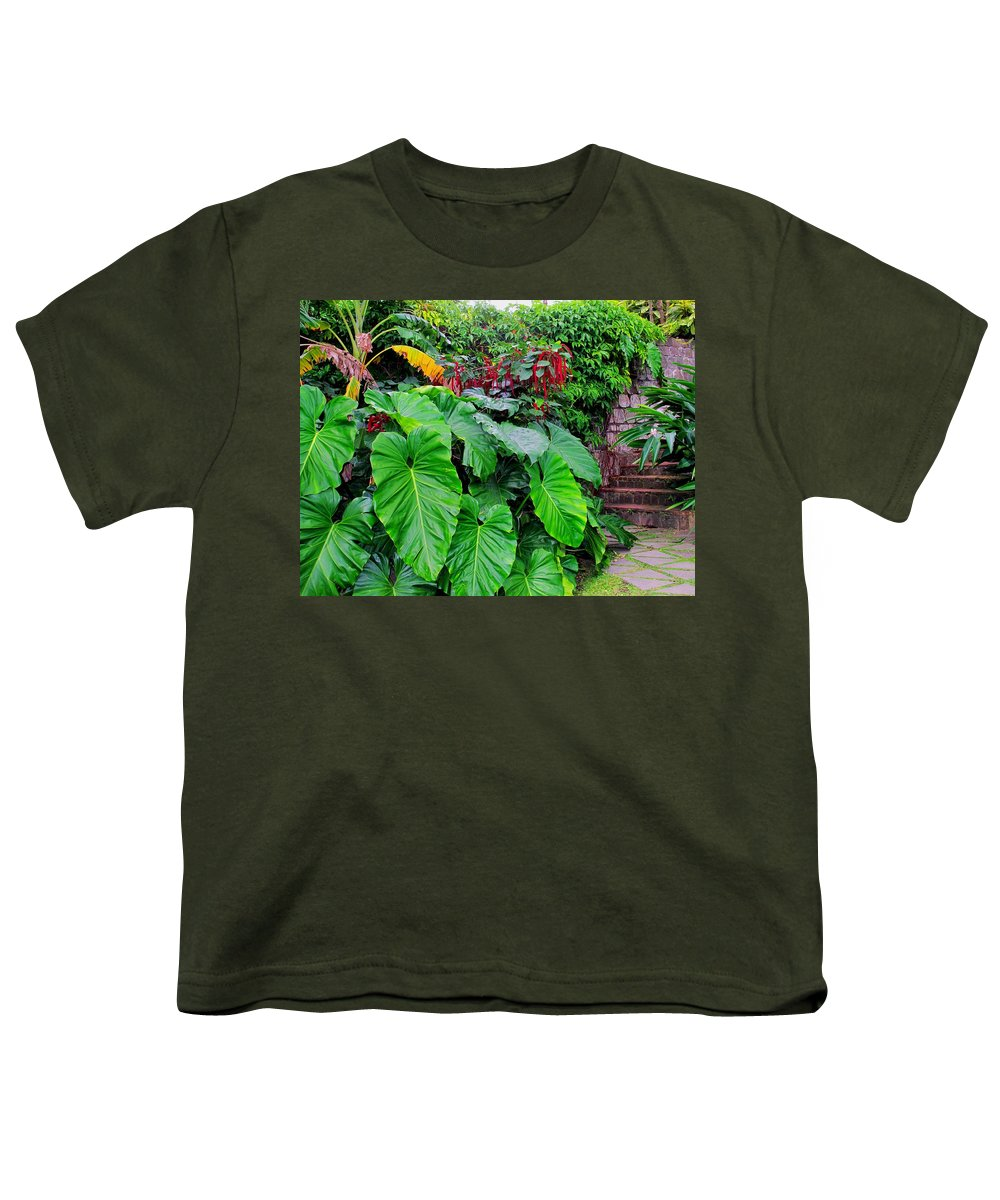 Lush Youth T-Shirt featuring the photograph Romney Steps by Ian MacDonald