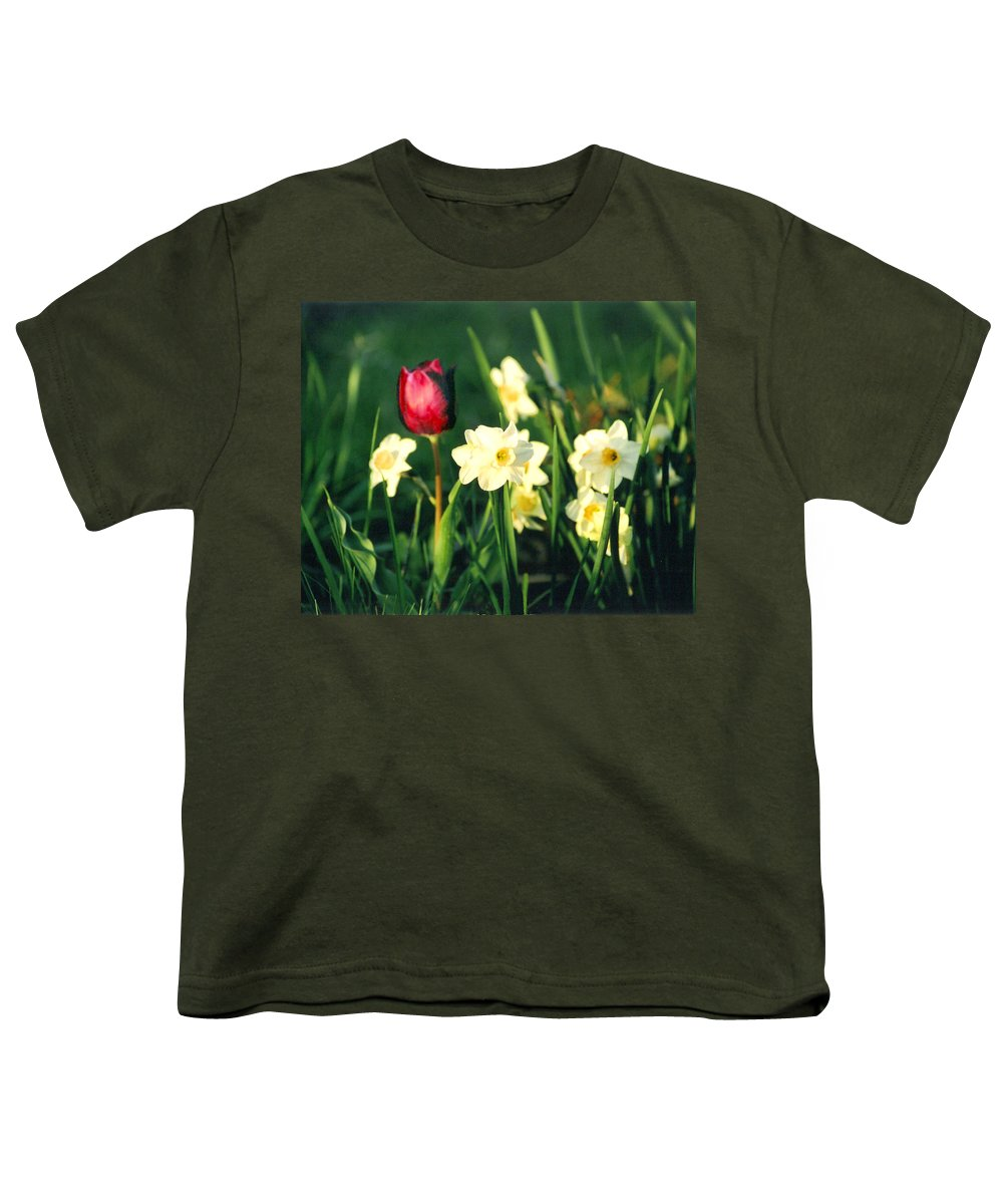 Tulips Youth T-Shirt featuring the photograph Royal Spring by Steve Karol