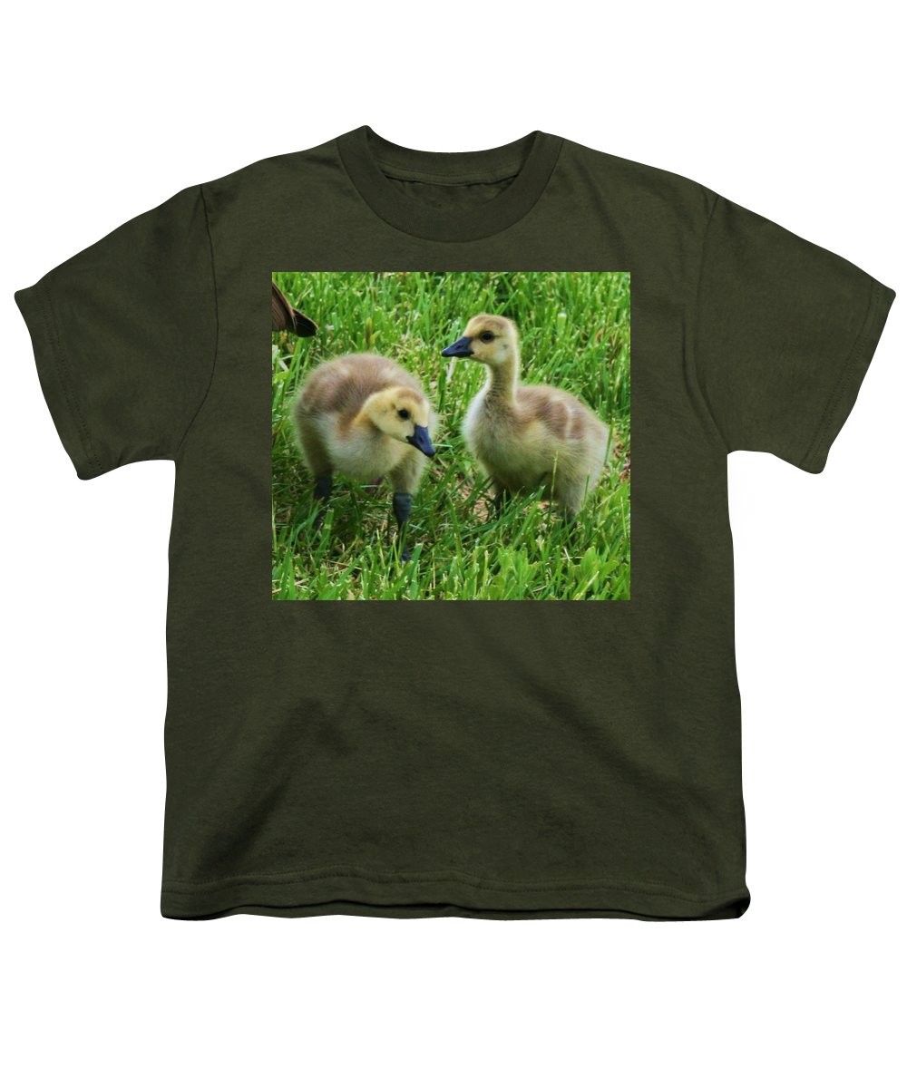 Nature Youth T-Shirt featuring the photograph Siblings by Angus Hooper Iii