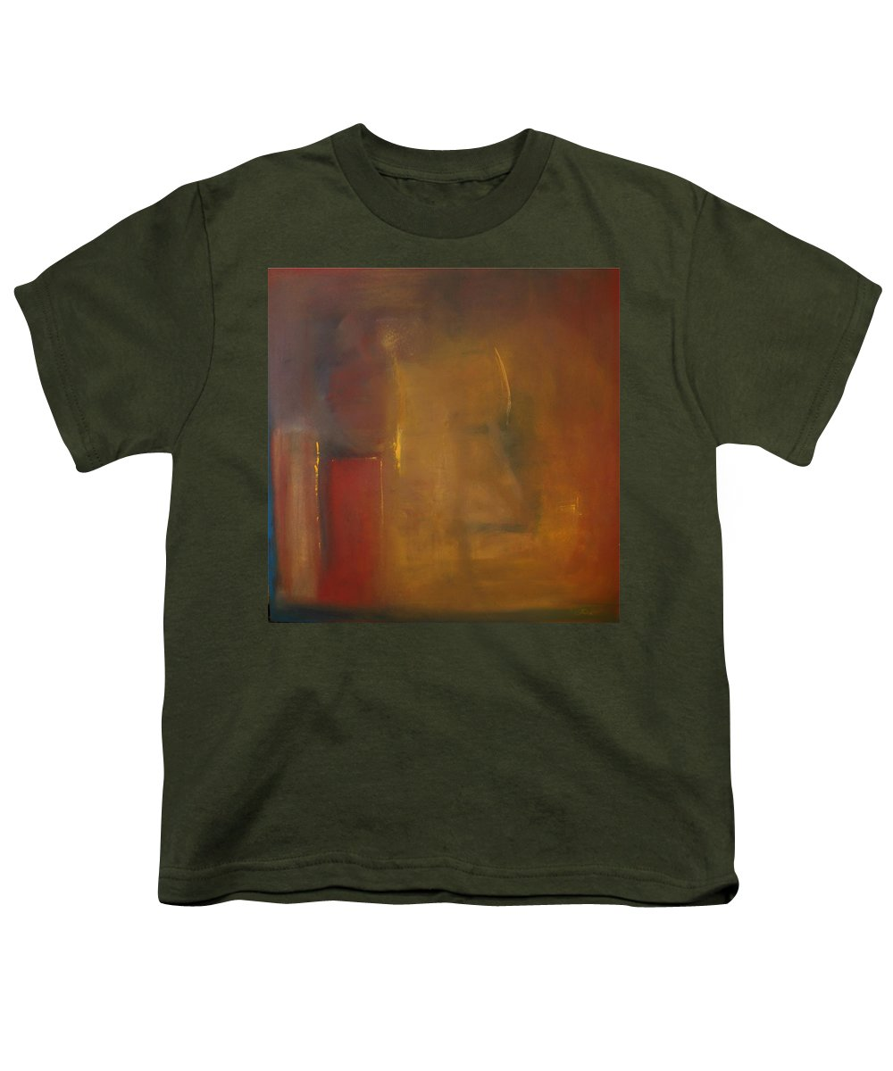 Youth T-Shirt featuring the painting Softly Reflecting by Jack Diamond
