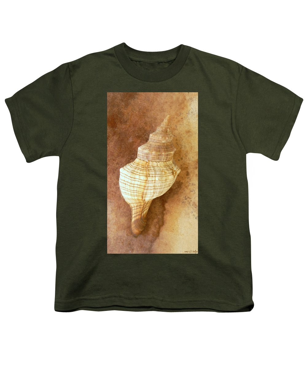 Still Life Youth T-Shirt featuring the photograph Sounds Of The Sea by Holly Kempe