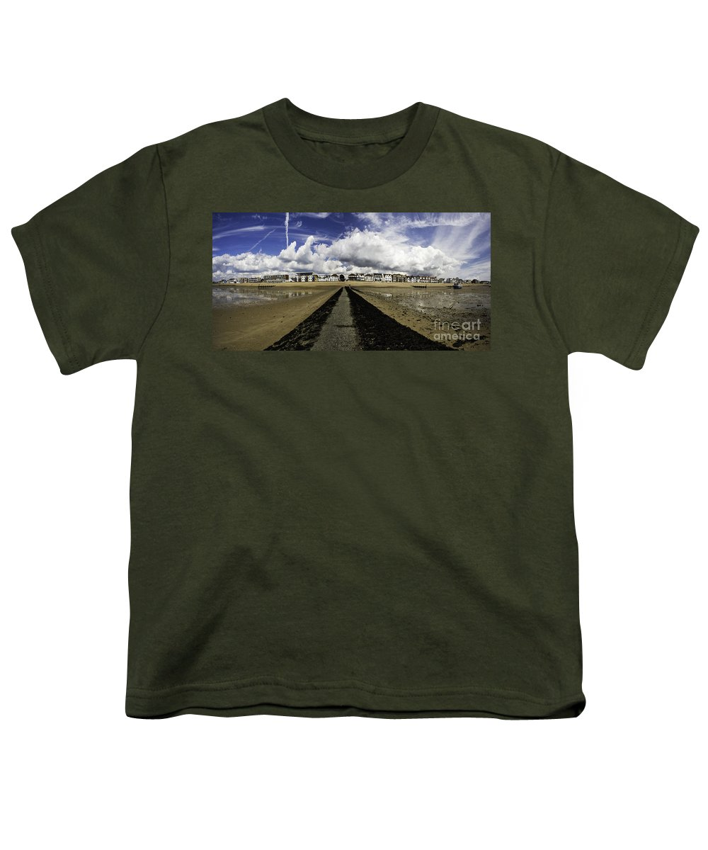 Southend On Sea Youth T-Shirt featuring the photograph Southend On Sea Panorama by Sheila Smart Fine Art Photography