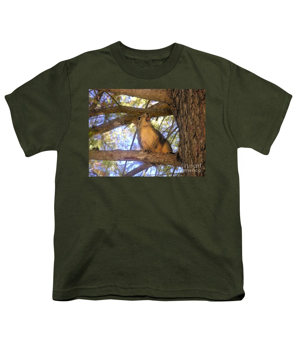 Nature Youth T-Shirt featuring the photograph The Winner by Lucyna A M Green