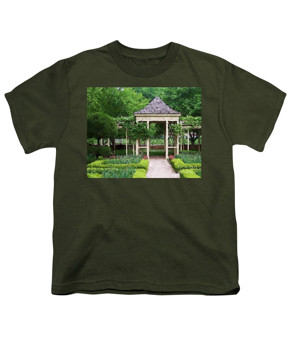Garden Youth T-Shirt featuring the photograph Tranquil by Debbi Granruth