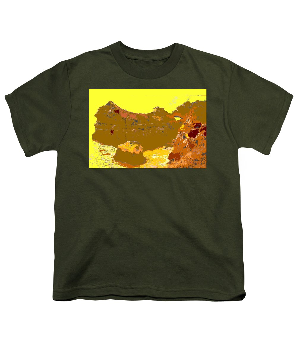 Mediterranean Youth T-Shirt featuring the photograph Under A Portugese Sun by Ian MacDonald