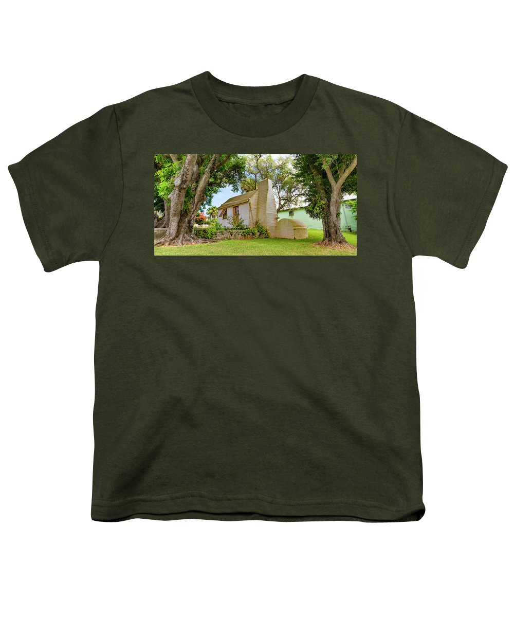 Botanical Youth T-Shirt featuring the photograph Bermuda Botanical Gardens by Betsy Knapp
