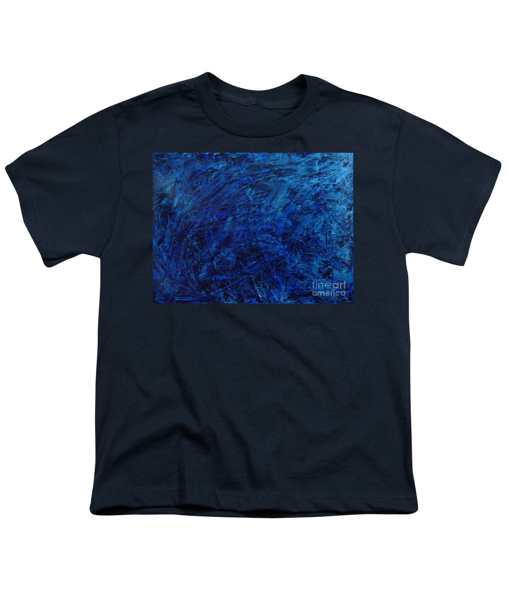 Abstract Youth T-Shirt featuring the painting Alans Call by Dean Triolo