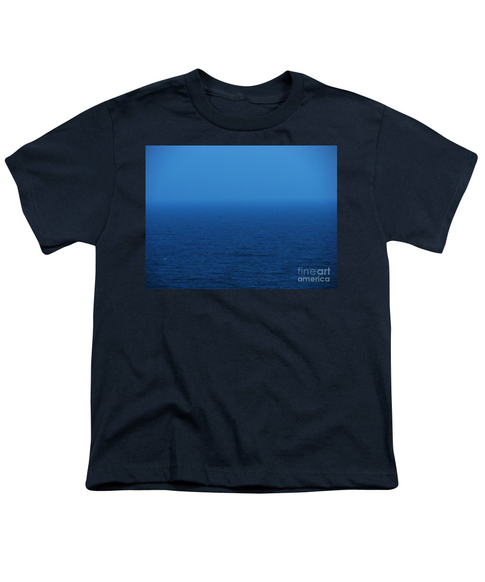 Blue Youth T-Shirt featuring the photograph Stepping Into A Dream by Amanda Barcon