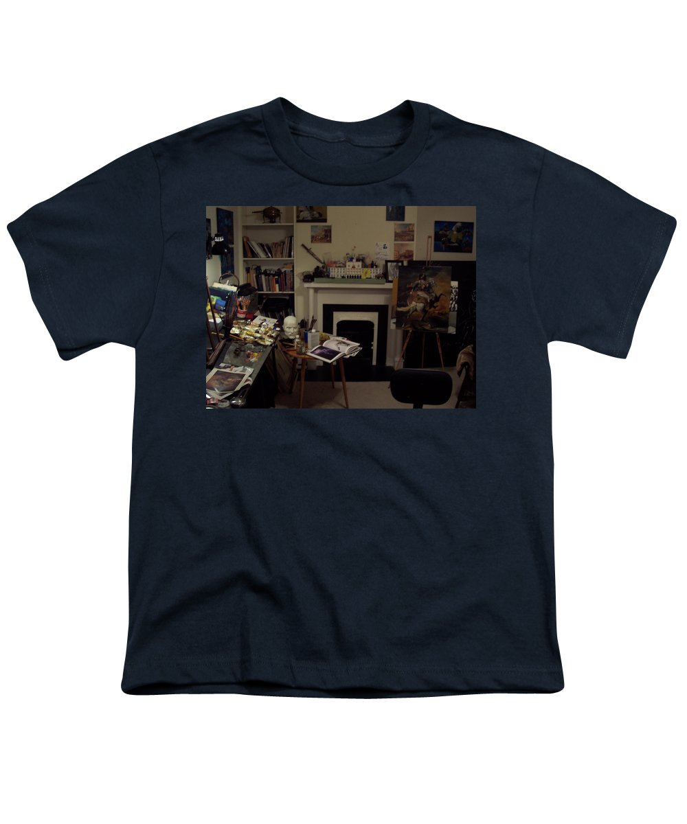 Youth T-Shirt featuring the photograph Savannah 9studio by Jude Darrien