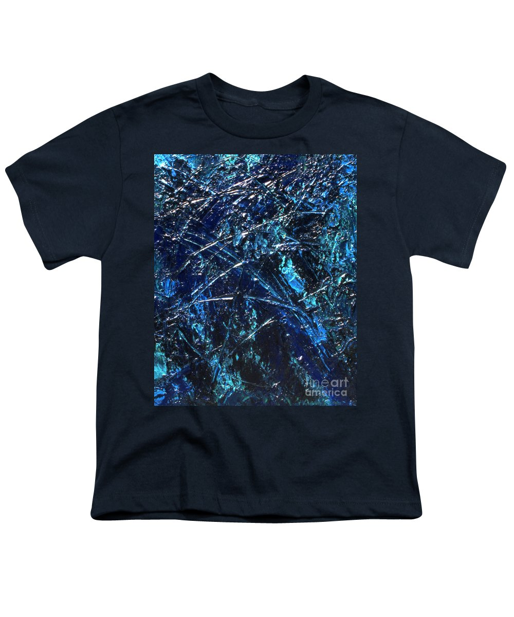 Abstract Youth T-Shirt featuring the painting Transitions I by Dean Triolo