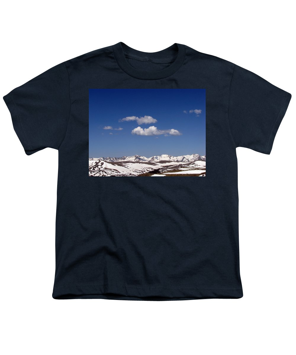 Mountains Youth T-Shirt featuring the photograph Colorado by Amanda Barcon