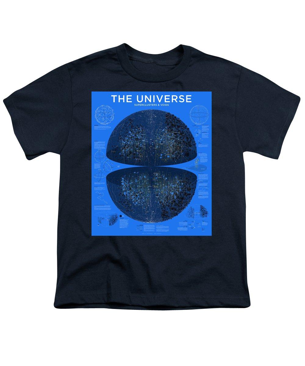 Cosmology Youth T-Shirts