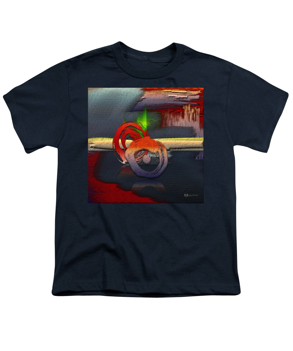 Abstracts Plus By Serge Averbukh Youth T-Shirt featuring the photograph The Night Is Young by Serge Averbukh