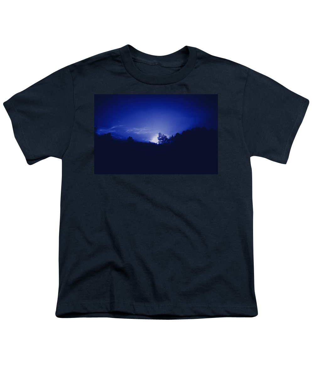 Sky Youth T-Shirt featuring the photograph Where The Smurfs Live 2 by Max Mullins