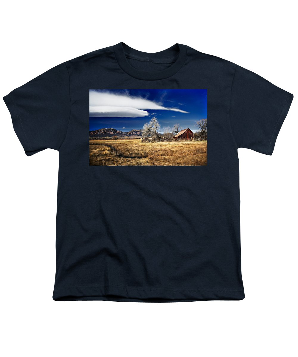 Colorado Youth T-Shirt featuring the photograph Beautiful Colorado by Marilyn Hunt