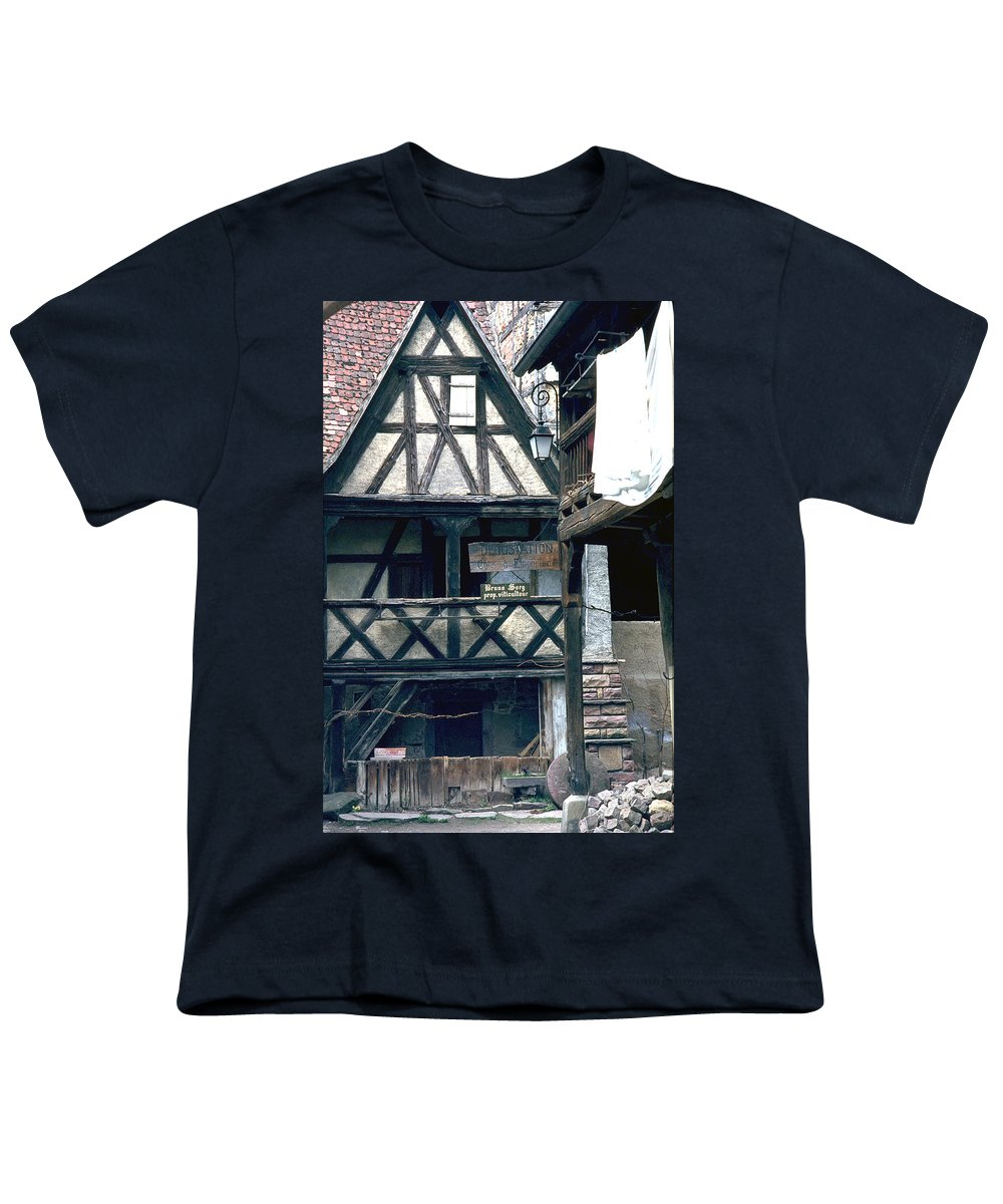 Colmar Youth T-Shirt featuring the photograph Colmar by Flavia Westerwelle