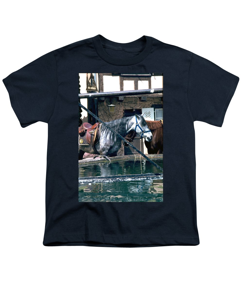 Colmar Youth T-Shirt featuring the photograph Colmar II by Flavia Westerwelle