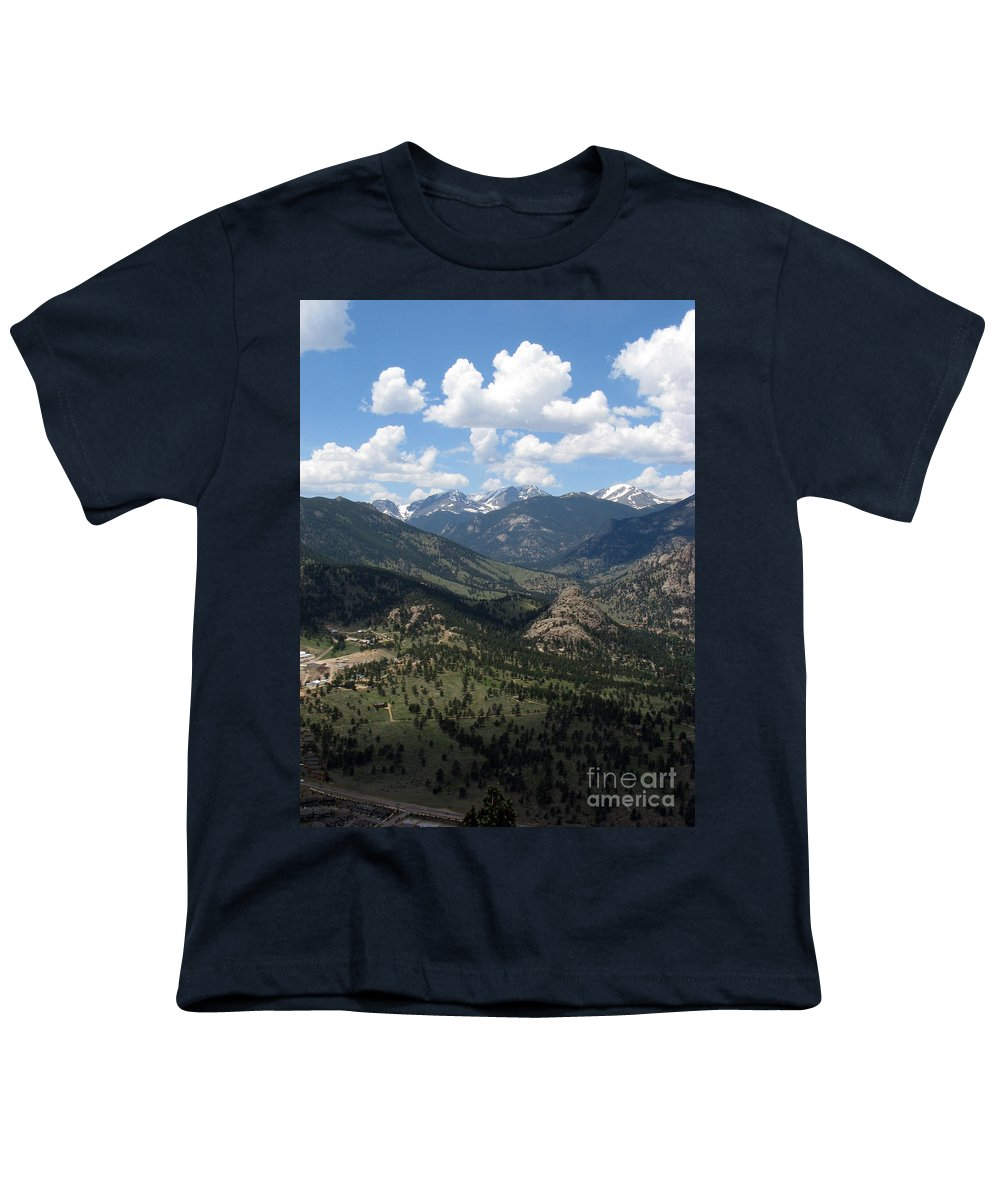 Colorado Youth T-Shirt featuring the photograph Colorado by Amanda Barcon