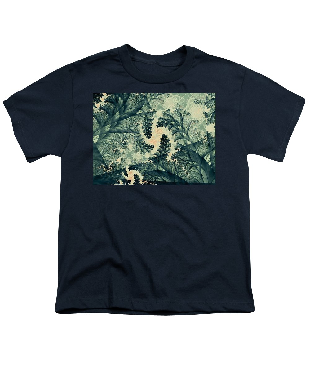 Plant Youth T-Shirt featuring the digital art Cubano Cubismo by Casey Kotas