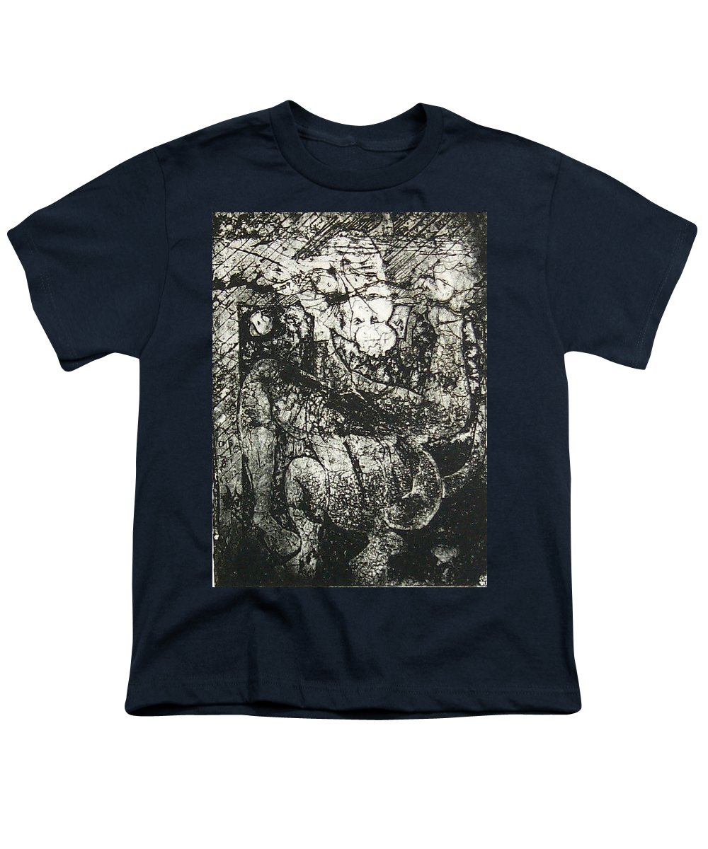 Etching Youth T-Shirt featuring the print Destroy Plate by Thomas Valentine