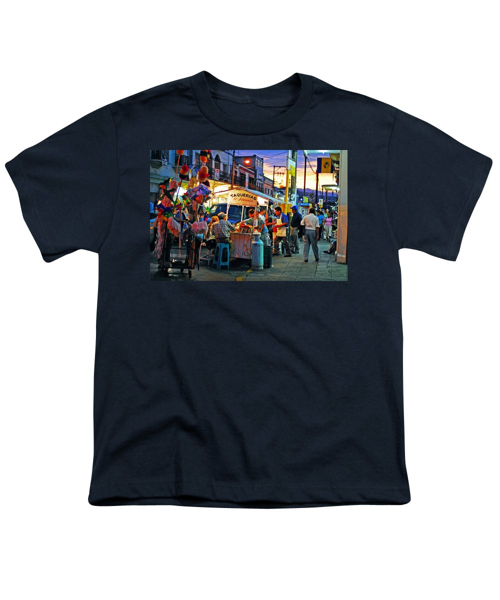 Skip Hunt Youth T-Shirt featuring the photograph El Flamazo by Skip Hunt