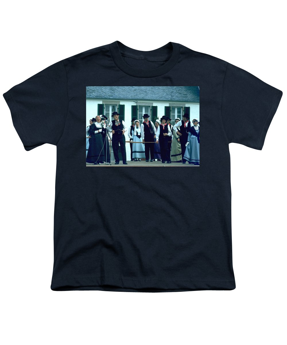 Tradition Youth T-Shirt featuring the photograph Folk Music by Flavia Westerwelle