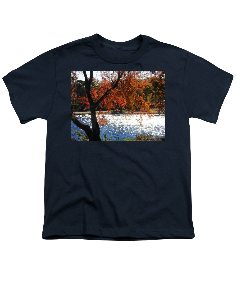 Landscape Youth T-Shirt featuring the photograph Lakewood by Steve Karol