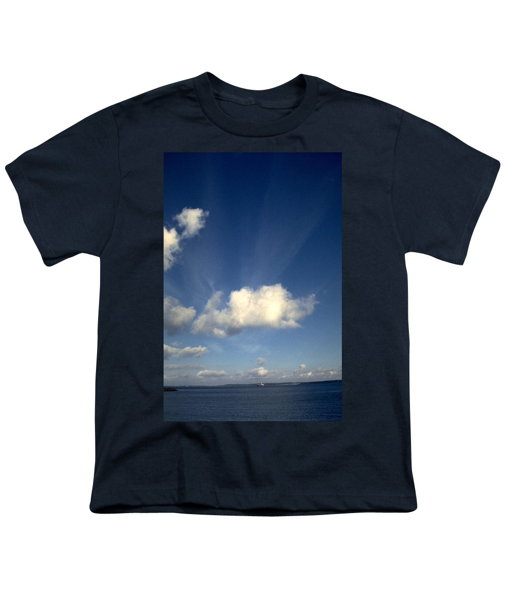 Northern Sky Youth T-Shirt featuring the photograph Northern Sky by Flavia Westerwelle