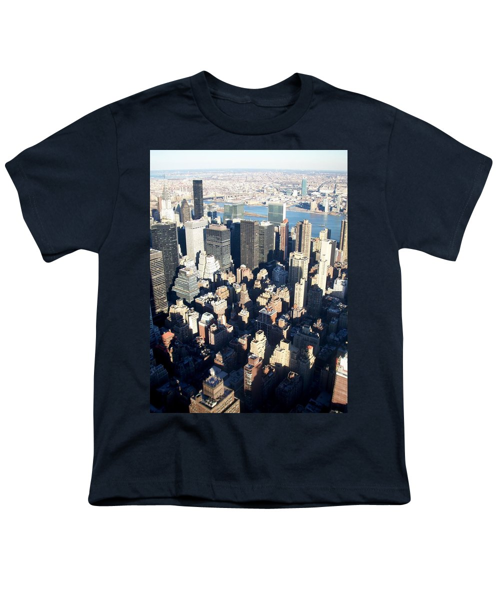 Nyc Youth T-Shirt featuring the photograph Nyc 4 by Anita Burgermeister