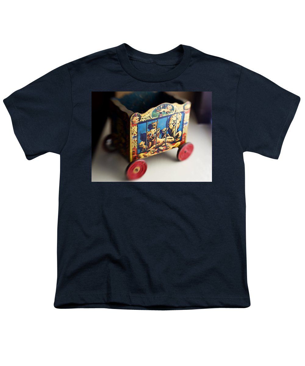 Americana Youth T-Shirt featuring the photograph Old Toy by Marilyn Hunt