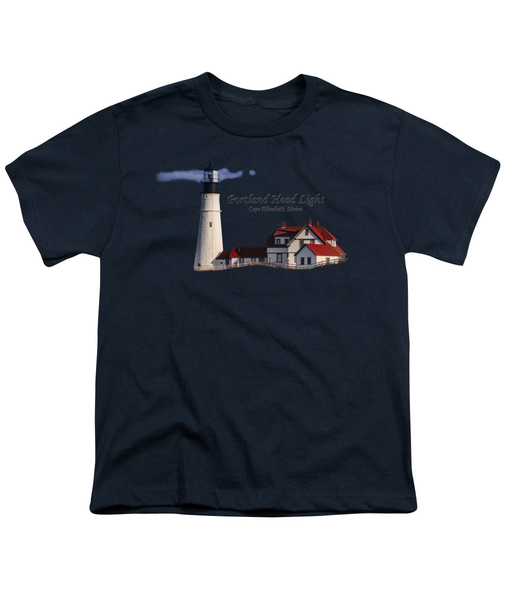 Lighthouse Wall Decor Youth T-Shirts